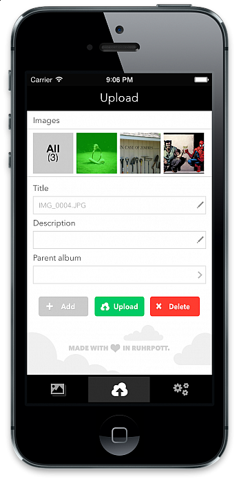 Public iOS Gallery 3 client BETA test   Gallery on